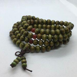 108 Sandalwood Mala Beads bracelet